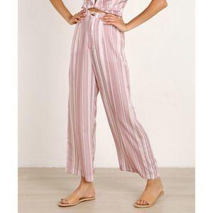 Show Me Your Mumu Kensington Satin Stripe Pants